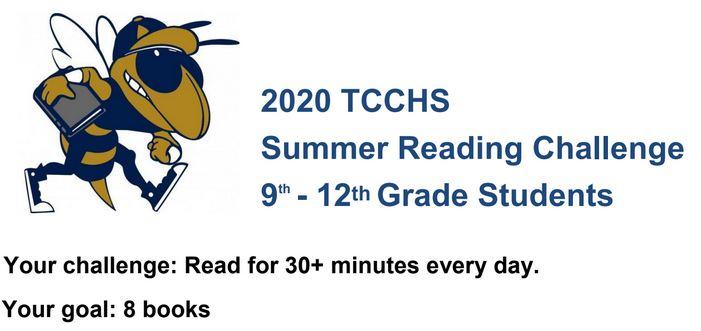 TCCHS Summer Reading Challenge 2020